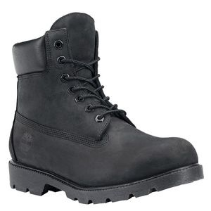 Timberland 6 inch Waterproof Black Boots